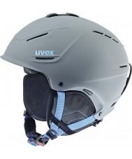 Uvex 5661535407 P1us bleu gris casque de ski - 59-62cm