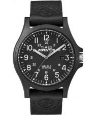 Timex TW4B08100 Mens expédition tissu noir montre bracelet